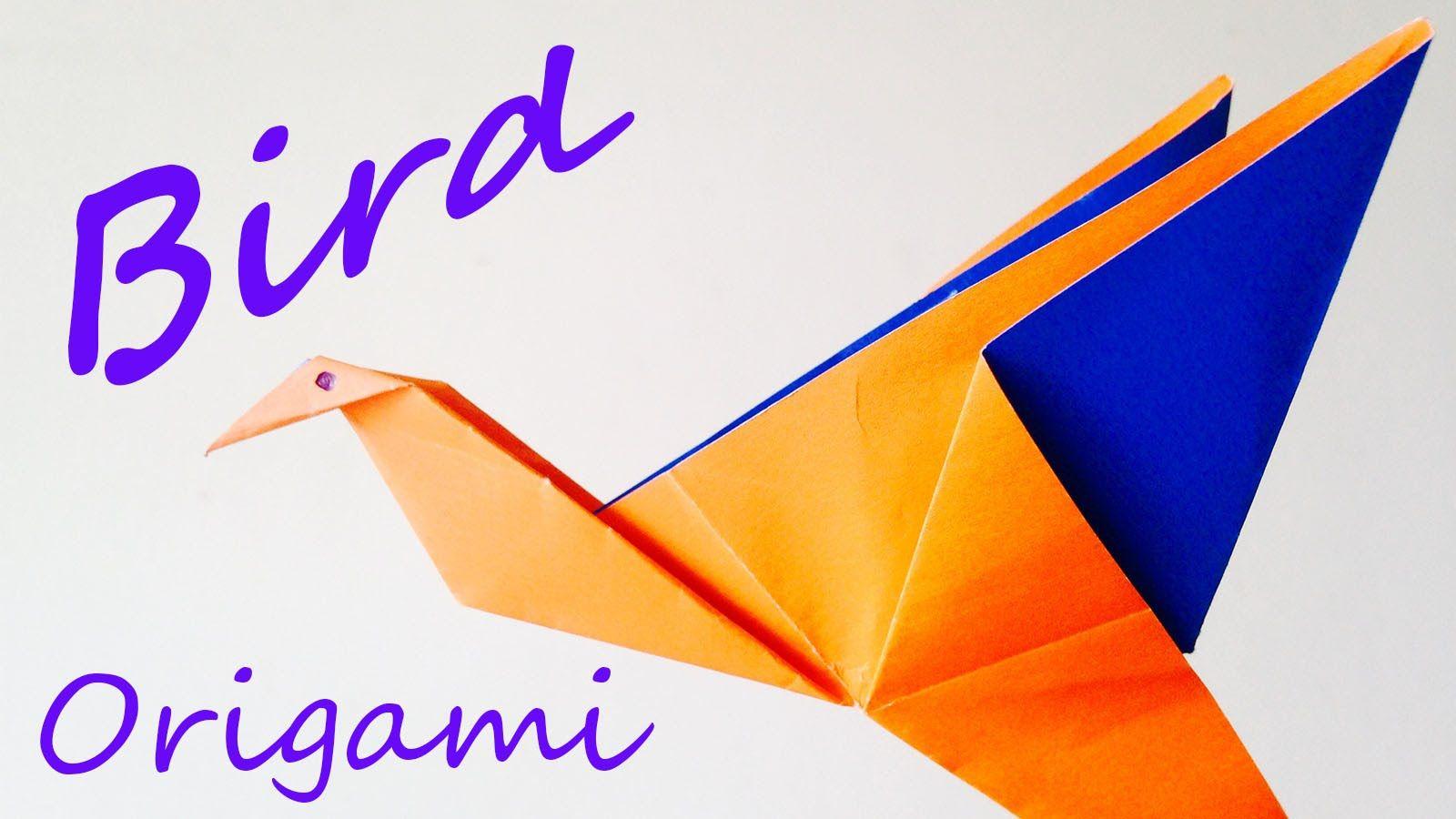 Flapping Bird Origami-Instructions - Tavin's Origami | 900x1600