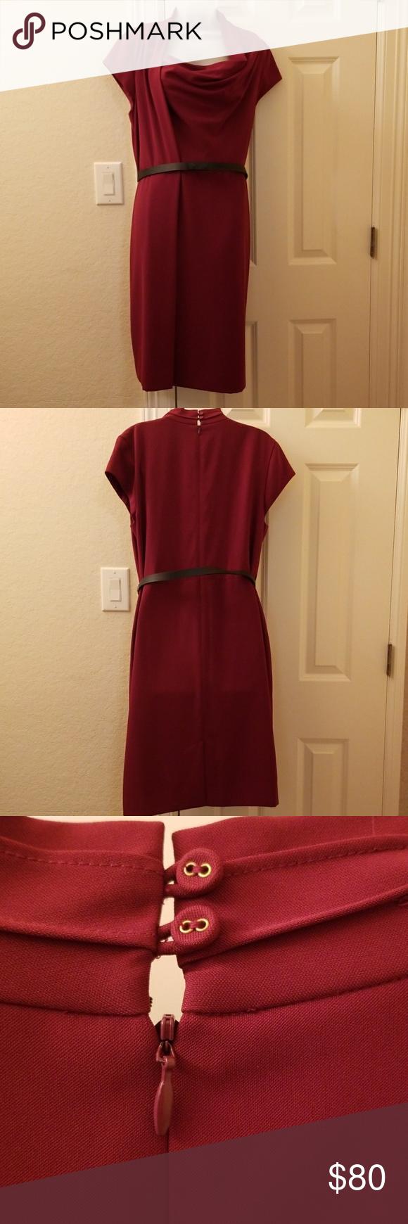 Nordstrom Brick Red Dress Red Dress Sophisticated Dress Nordstrom Dresses [ 1740 x 580 Pixel ]
