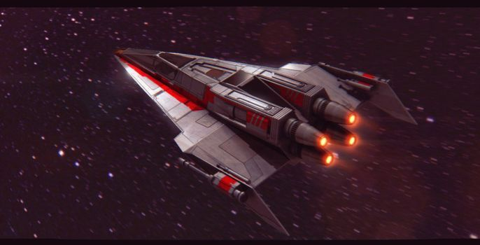 Star Wars Incom T-85 by AdamKop