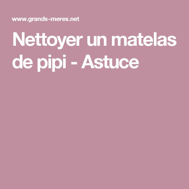 Comment Nettoyer Pipi De Chat Sur Canapé: Nettoyer Un Matelas De Pipi - Astuce