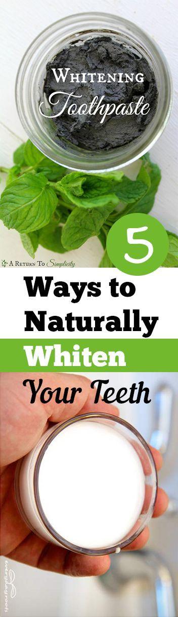 5 Ways to Whiten Your Teeth Naturally