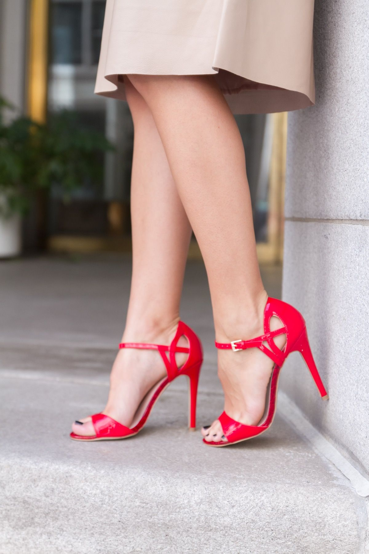 1000  images about Red Strappy Heels on Pinterest | Sandals ...
