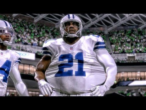 400 Pound Bridges Eating The Seahawks Madden 17 Career Mode