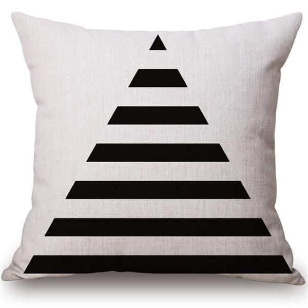 These Unique Patterned Cotton Pillow Covers Are Perfect