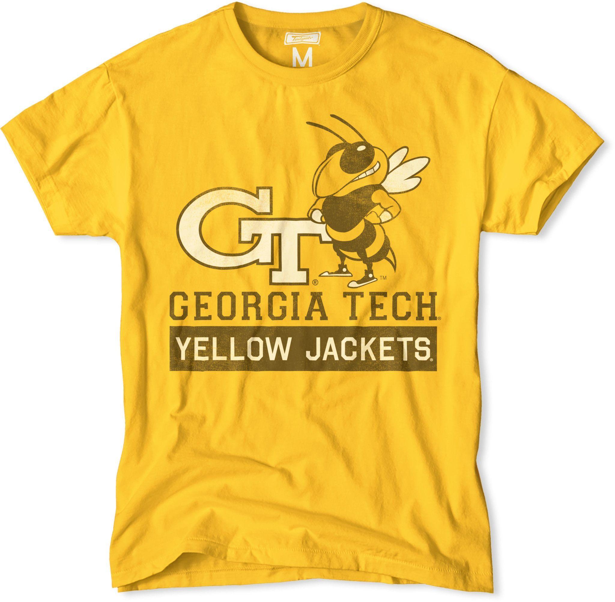 NCAA GA Tech Yellow Jackets T-Shirt V1