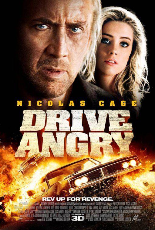 Drive Angry Movie Poster 3 Drive Angry Nicolas Cage Movies Nicolas Cage