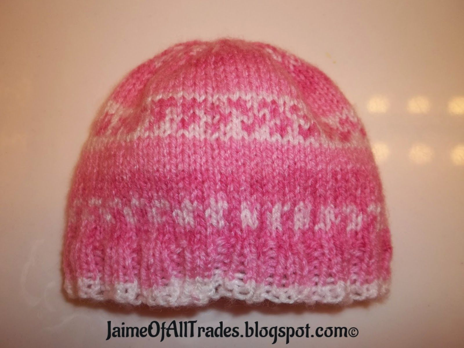 Jaime of All Trades: Knitting Newborn and Preemie Hats for Charity