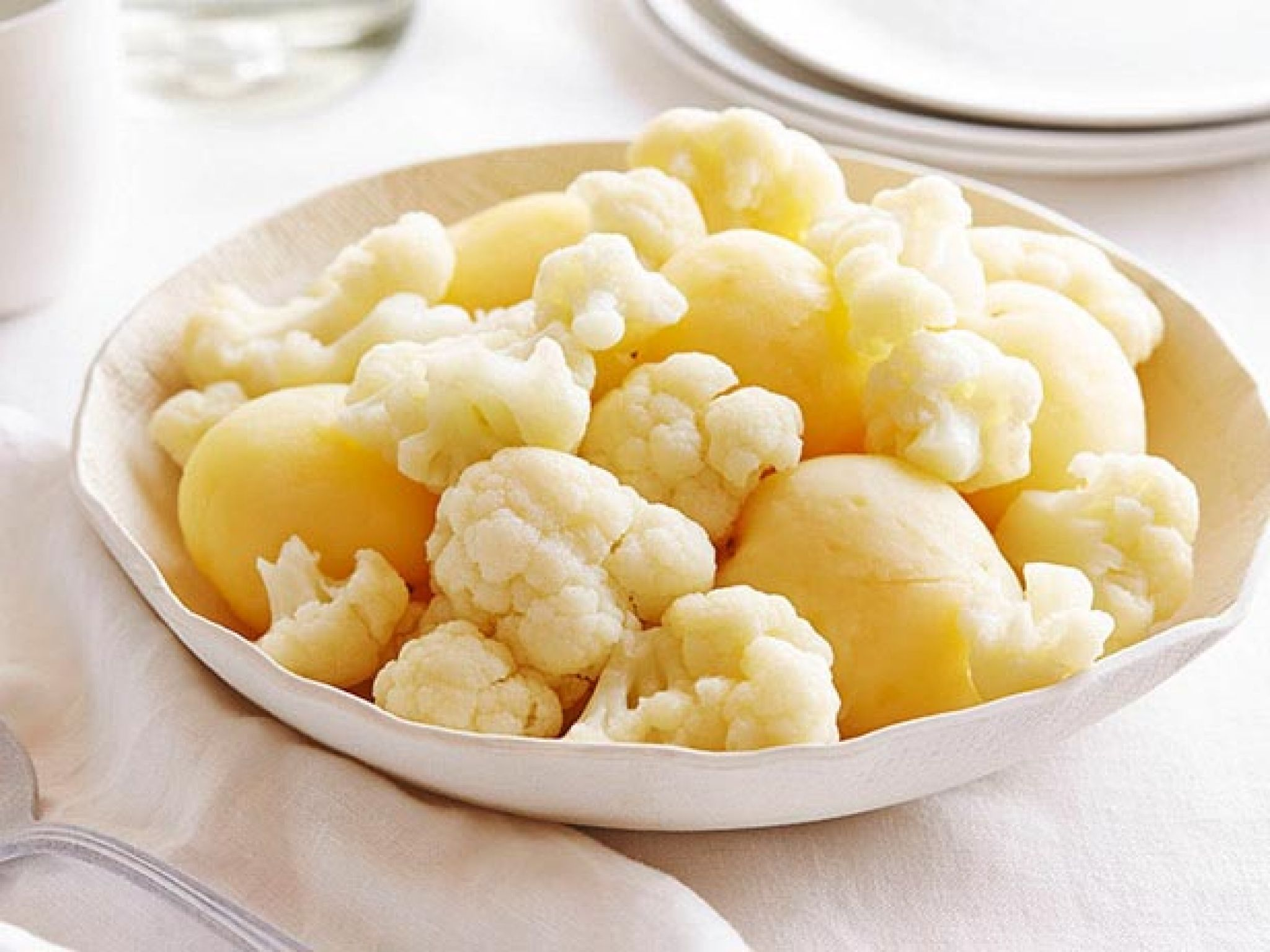 Cauliflower-Potato and Caraway Salad recipe from Food Network Kitchen via Food Network