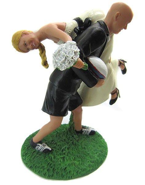 Bobblegr Am Custom Rugby Wedding Cake Topper 199 99 Http