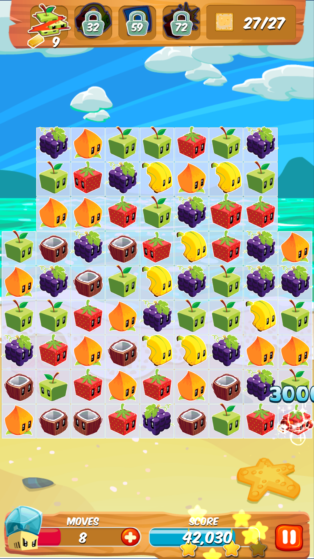 Juice Cubes Rovio's cute take on a familiar puzzle game