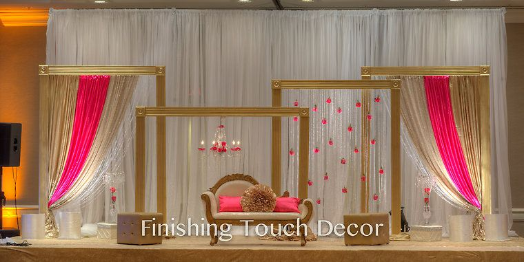 Finishing Touch Decor Indian Wedding Decorations Www
