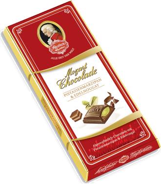 Mozart Chokolade Alpenvollmilch