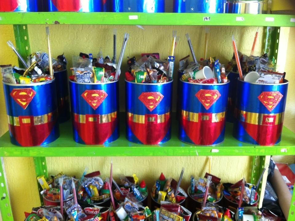 Dulcero de superman dulceros infantiles pinterest for Decoracion wonder woman