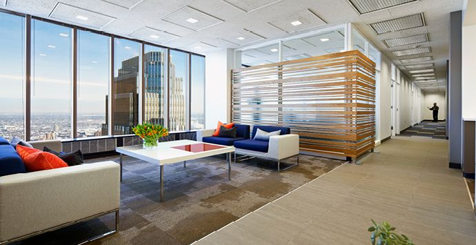 Walls Aecom Interior Architecture Space Interiors Office Workspace