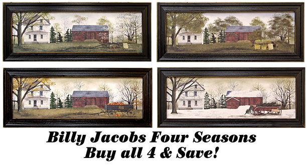 billy jacobs 4 seasons printsnew kruenpeeper creek country gifts