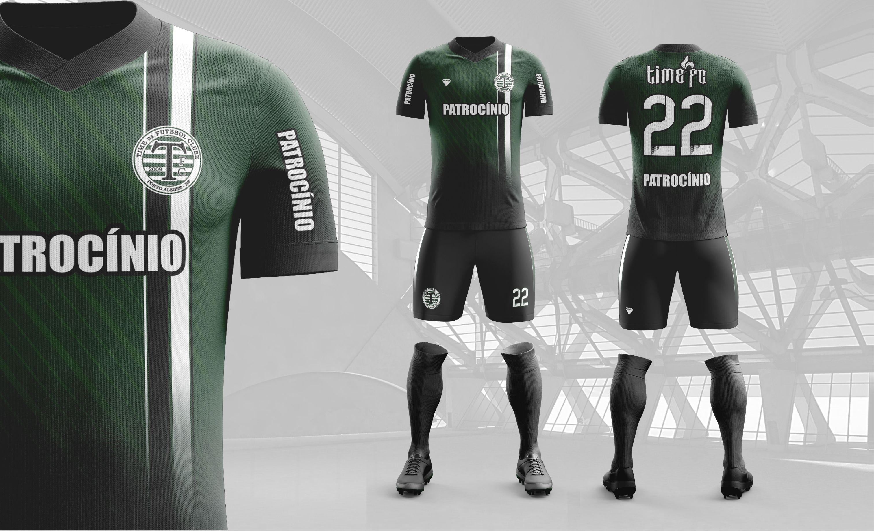 a254cdd50f5e2 Modelo criado para o time de futebol amador TIme de Futebol Clube de Porto  Alegre RS-Brasil.