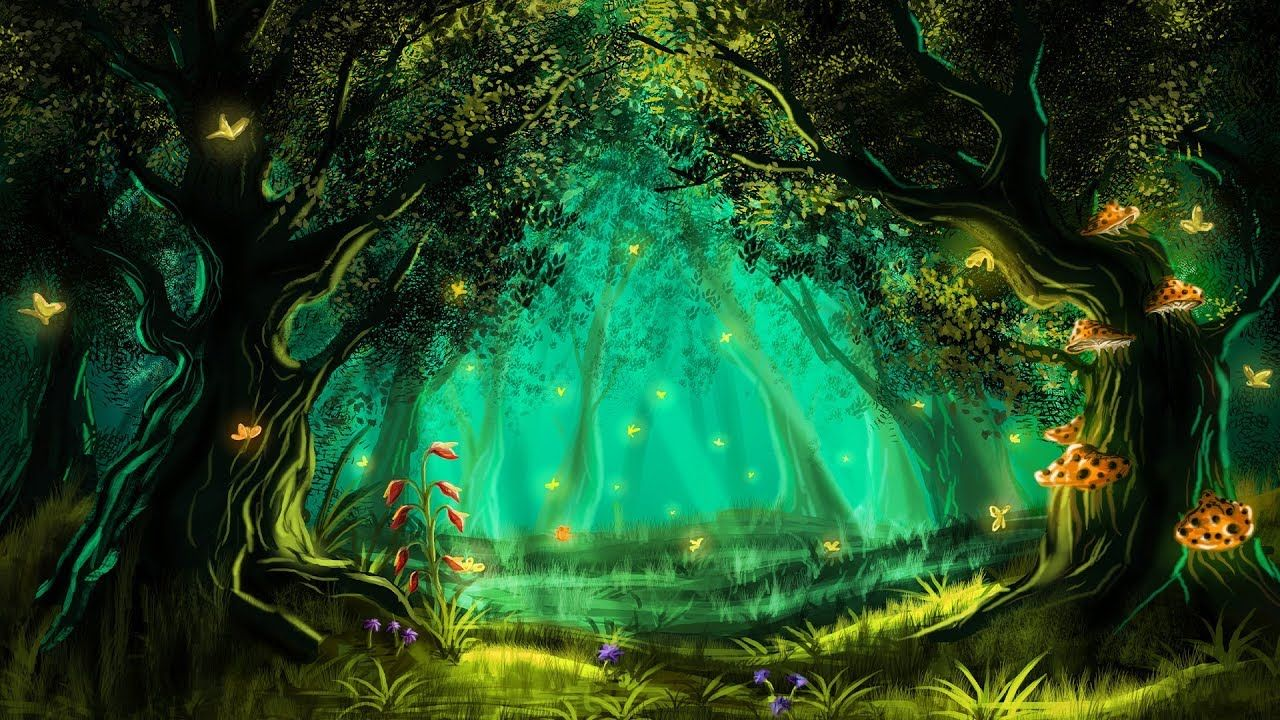 432Hz 》MAGICAL FOREST MUSIC 》Manifest Miracles 》Raise