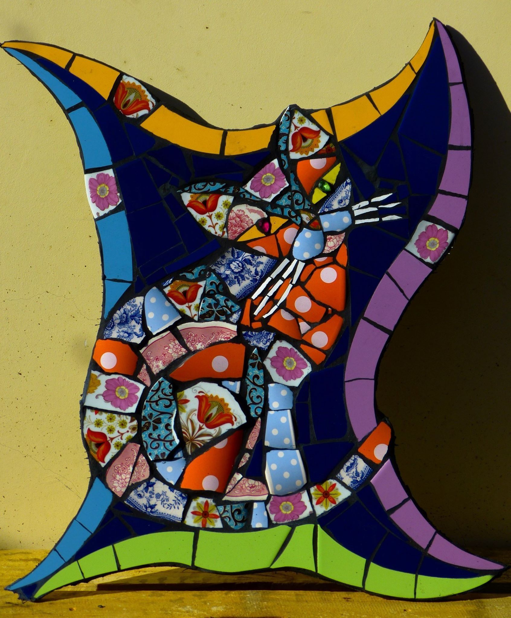 Pin by chantal buslot on mosaics and stained glass pinterest