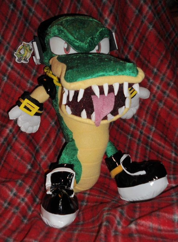 Sega Sonic The Hedgehog Vector The Crocodile Plush Sonic The Hedgehog Sonic And Shadow Sonic