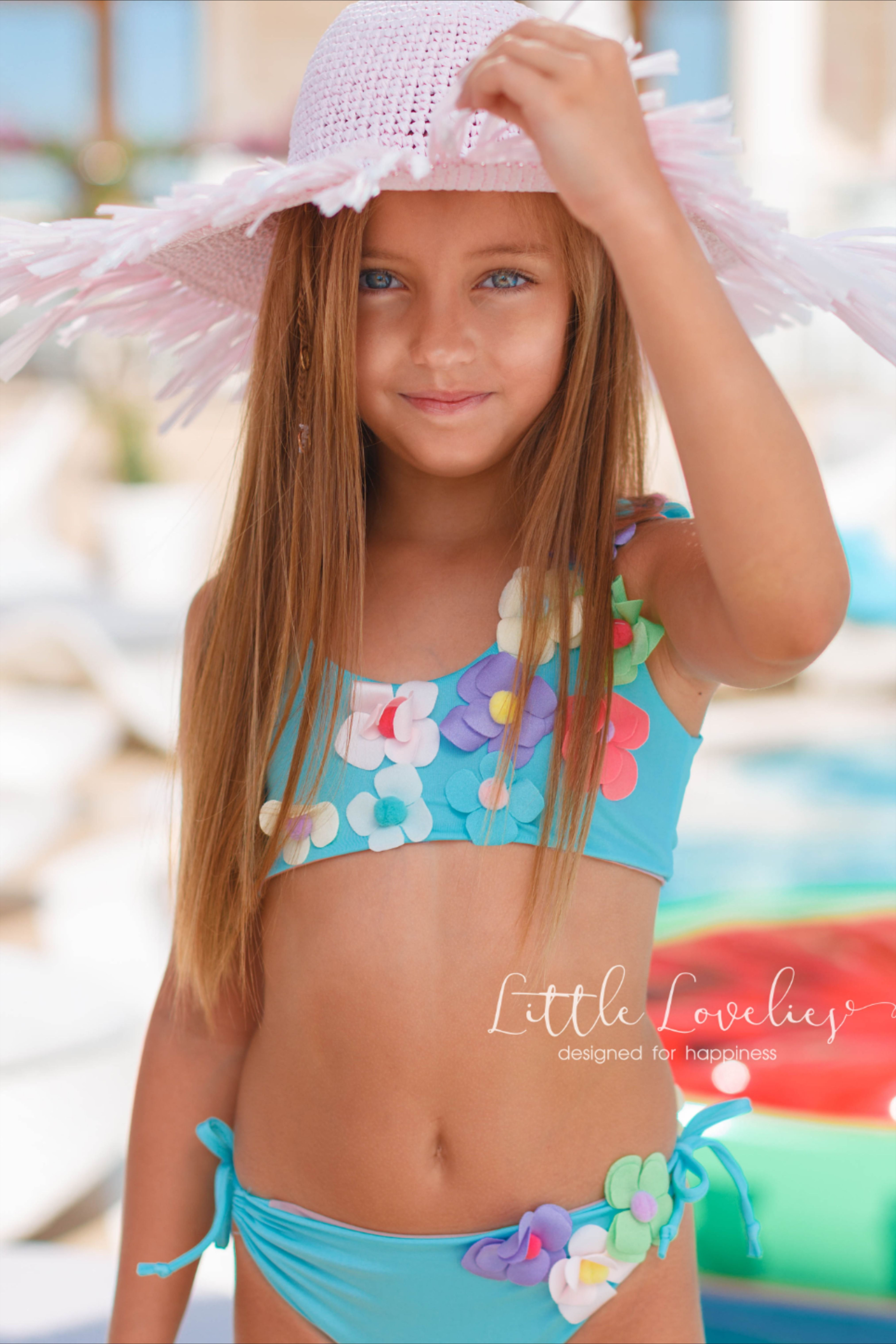 American Trends Girls One Piece Swimsuit Beach Swimsuits for Kids Girls Athletic Swimwear Toddler Bathing Suits
