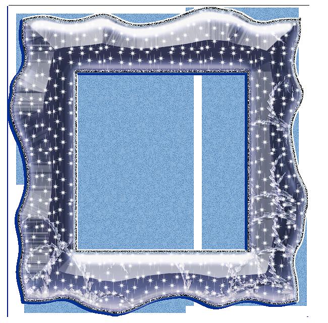 Rámečky průhledné - čtverec a obdélník   vánoční blog