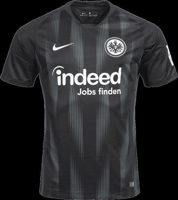 1ed538805e Eintracht Frankfurt 18/19 away | Apparel Design | Camisas de futebol ...