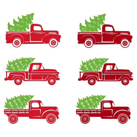Shristmas Truck Svg Tree Truck Svg Christmas Tree Truck Christmas Svg Old Truck Svg Old Truck Tr Christmas Tree Truck Christmas Red Truck Christmas Truck