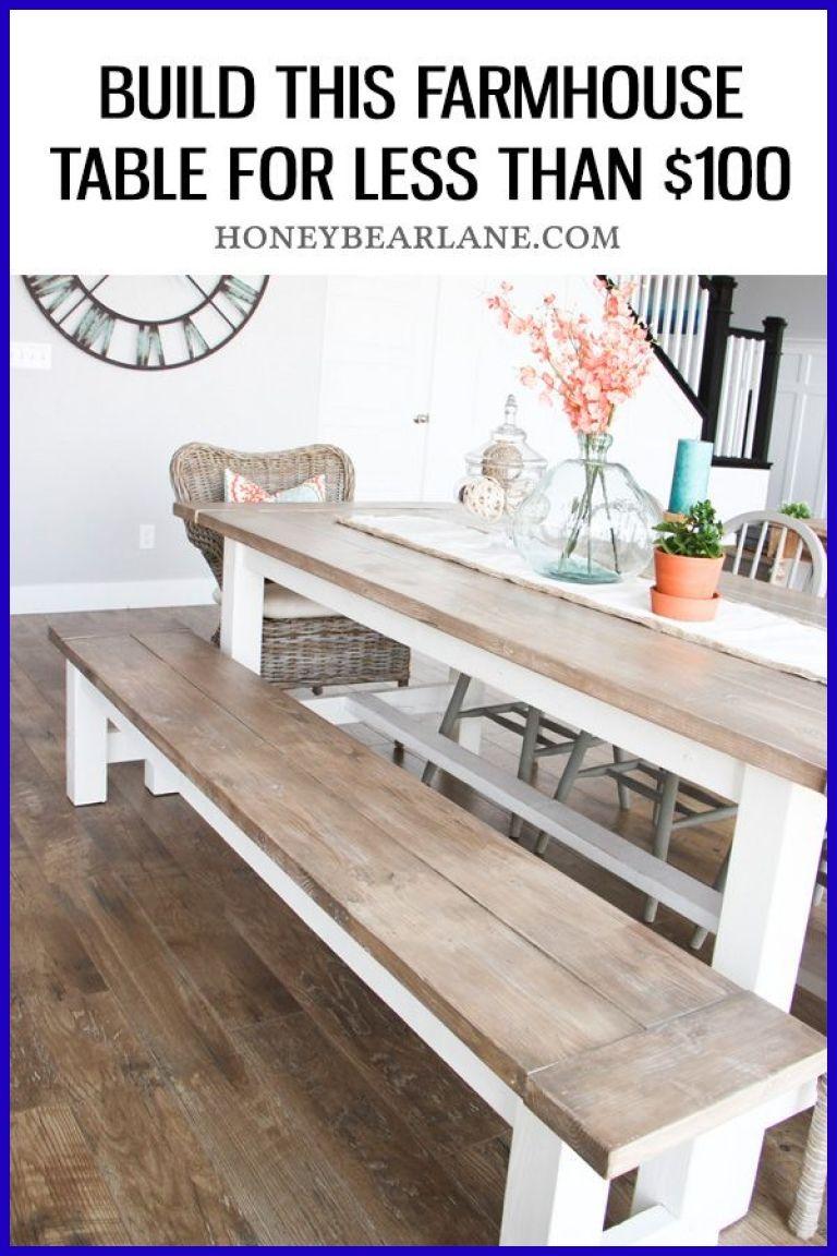 Diy Home 31729 Build this farmhouse table for less than