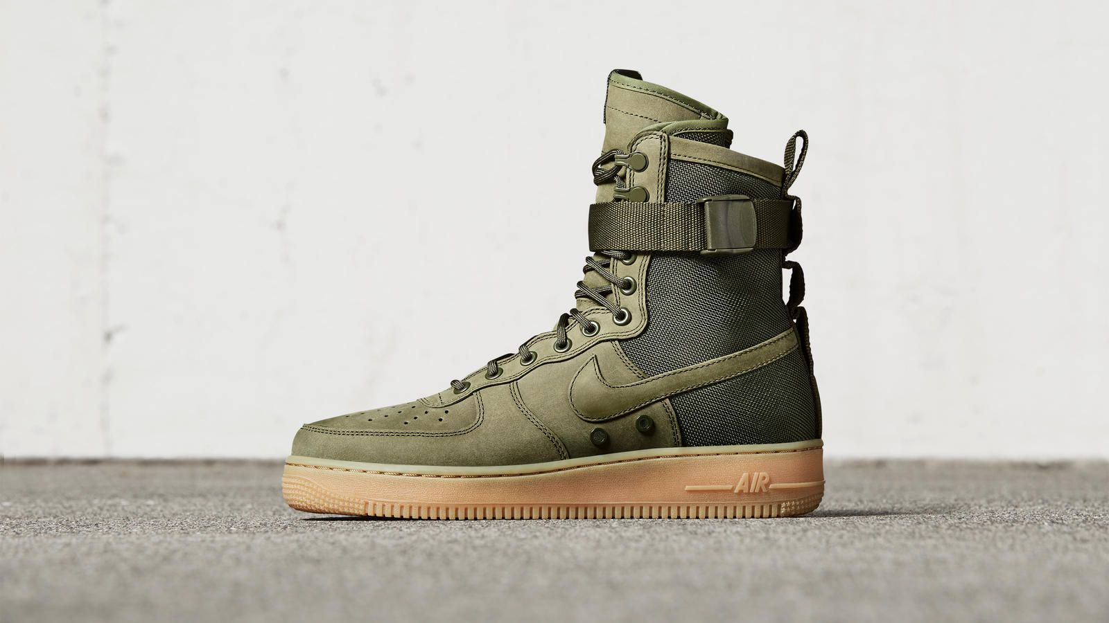 Special Forces Air Force 1 Boots High Rattan Womens Men's Casual Shoes
