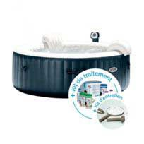 Spa Gonflable Intex 28406 Kit Traitement Kit Entretien En 2020 Avec Images Spa Gonflable Spa Gonflable Intex Gonflable