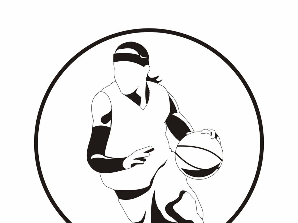 cool coloring page basketball Free Download | Colouring Pages ...