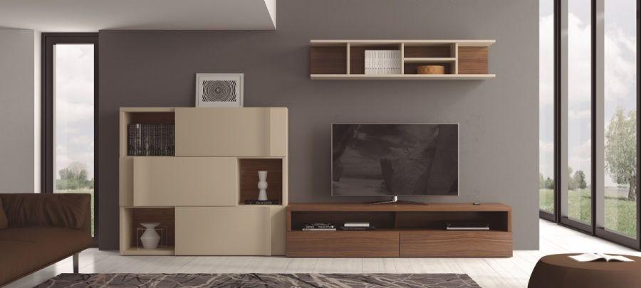 Mueble para salón apilable con aparador   Furniture design ...
