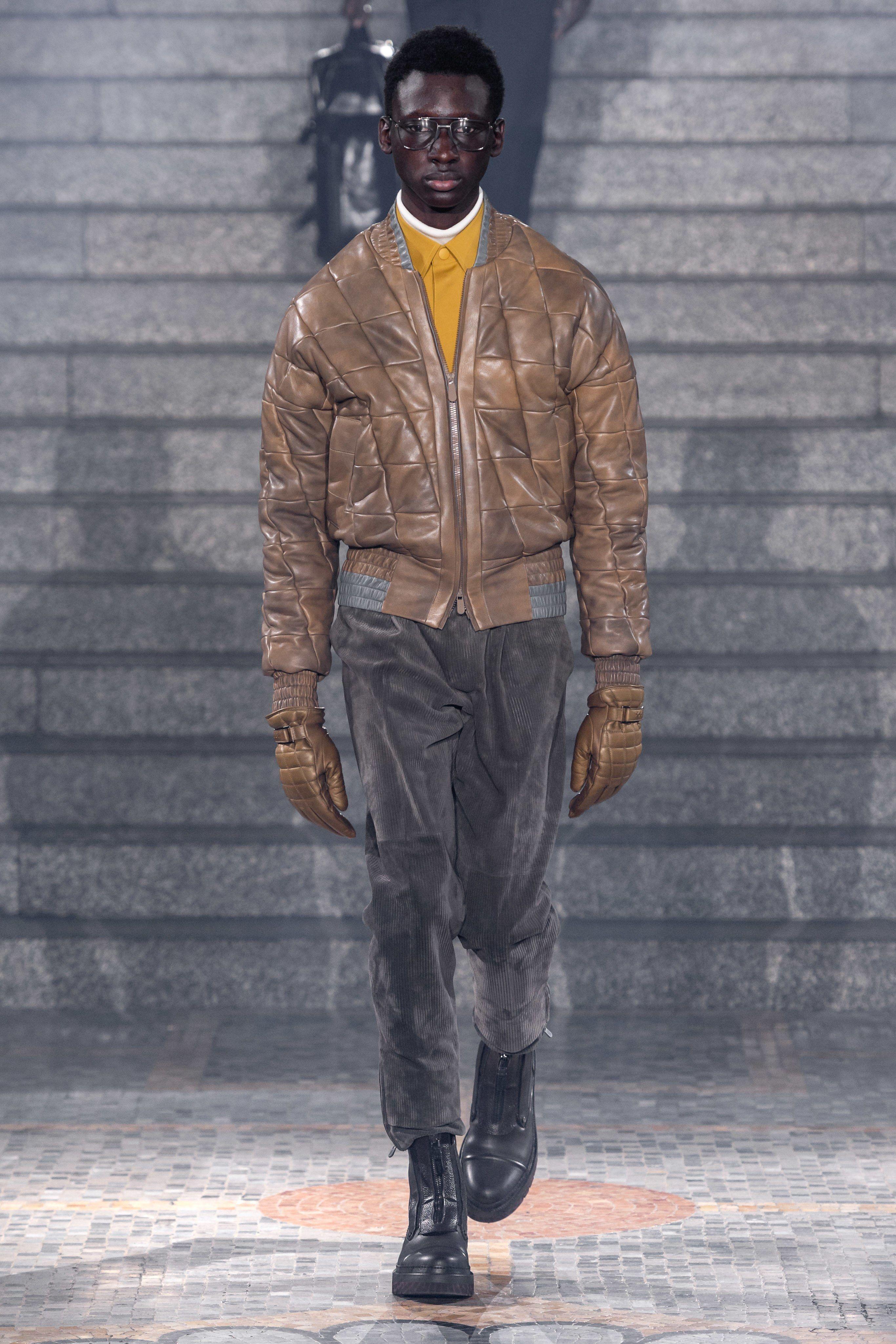 34306e6658 Ermenegildo Zegna Fall 2019 Menswear Fashion Show in 2019 | MENS ...