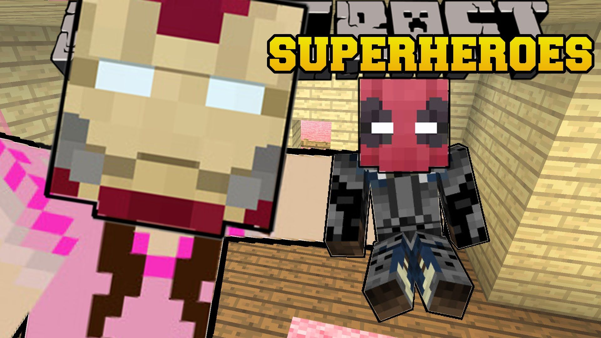 minecraft superheroes become epic