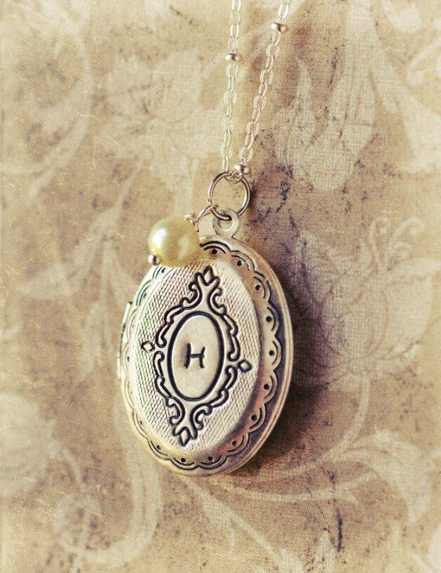 A personal favorite from my Etsy shop https://www.etsy.com/listing/190858292/custom-initial-locket-bridesmaid-jewelry