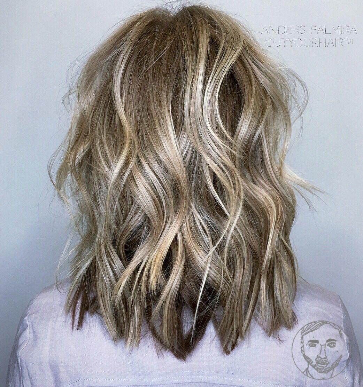 Aveda Wavy Long Blonde Bob Short Hair Beach Wave Medium Ideas Lob Long Pixie Balayage Tutorial Undercut Beach Wave Hair Long Bob Blonde Short Hair Styles