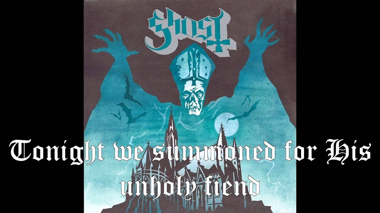 Ritual Ghost Lyrics Ghost Album Ghost Ghost Bc