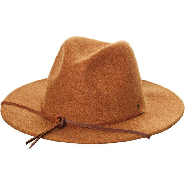 2e9ec6629a7d7a Brixton Field Hat Brown (120 CAD) ❤ liked on Polyvore featuring men's  fashion, men's accessories, men's hats, accessories, brown, headwear, men, mens  brown ...