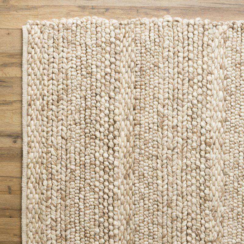 Jocelyn Handwoven Wool Beige Area Rug En 2019 Fort Worth