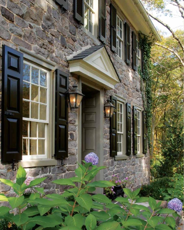 Stone Exterior Homes: Stone Exterior Houses, Window