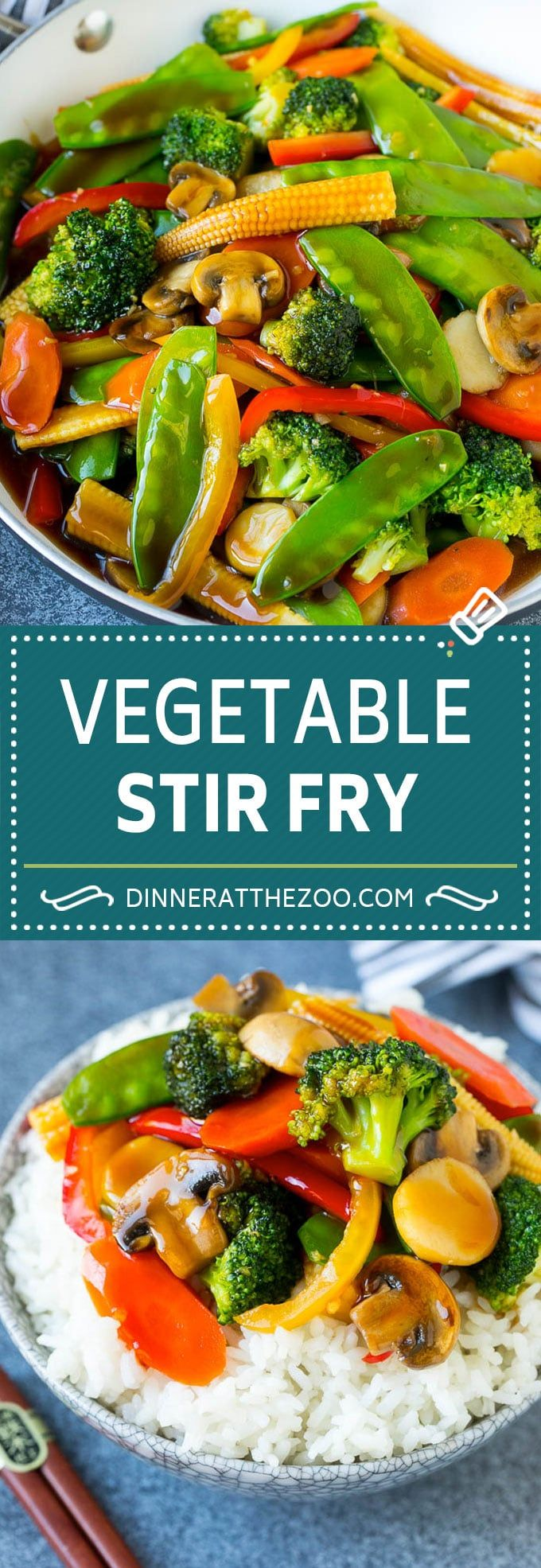 Vegetable Stir Fry - Dinner at the Zoo
