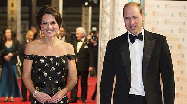 The Duke and Duchess of Cambridge at the 2017 BAFTA's