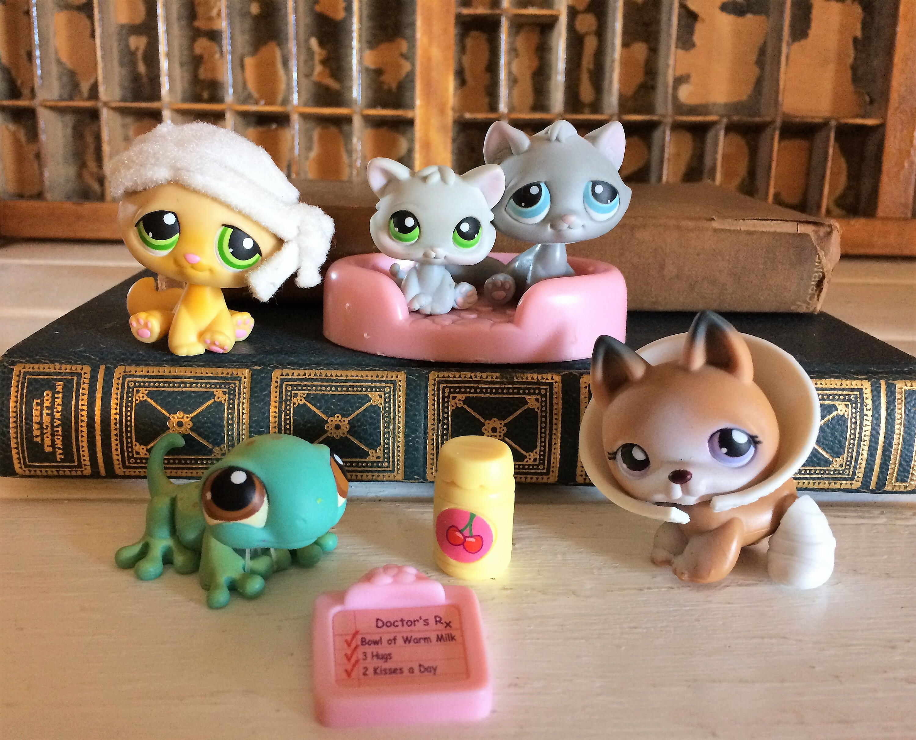 Littlest Pet Shop Lps Lps On The Go Littlest Pet Hospital Lps