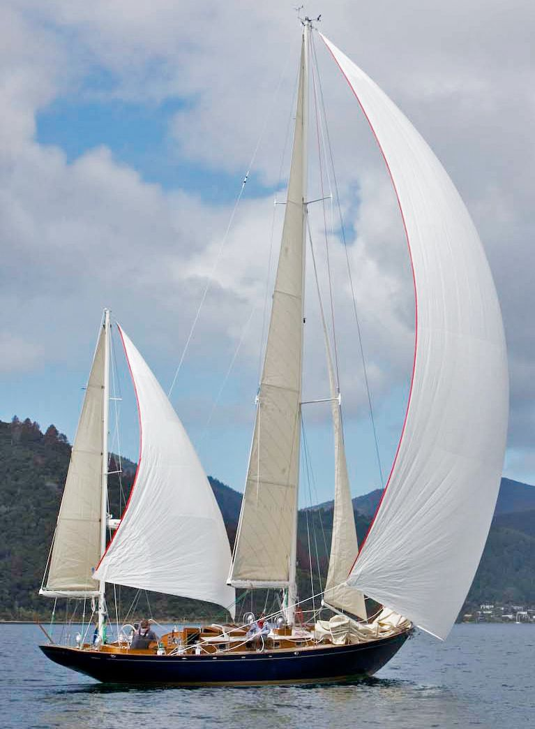 Theodora - Sparkman & Stephens 45 ft Yawl 2010 boat for sale