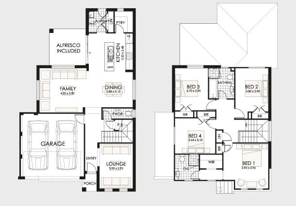 Planos de casas de dos pisos duplex design house and - Planos de casas de dos pisos ...
