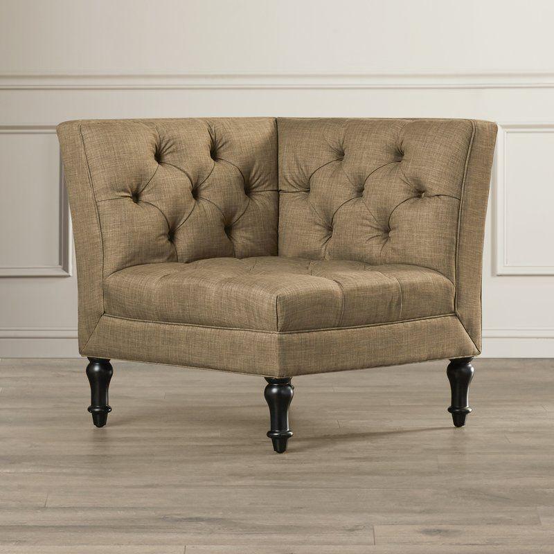Shelbyville Corner Slipper Chair
