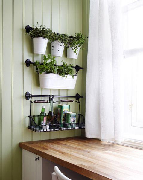 Fintorp wall storage by ikea ikea hacks pinterest for Indoor wall planters ikea