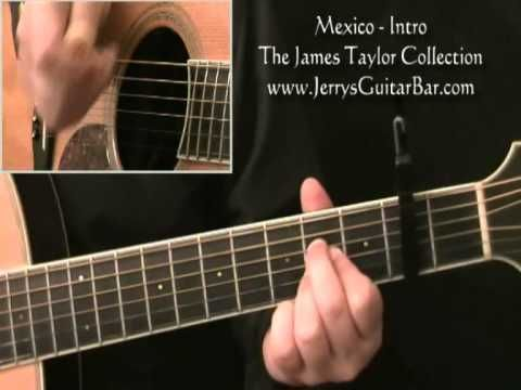How To Play Something In The Way She Moves By James Taylor