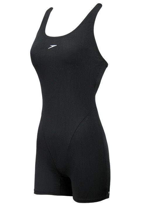 Speedo Essential Endurance Legsuit Black  4b64cf684dcd1