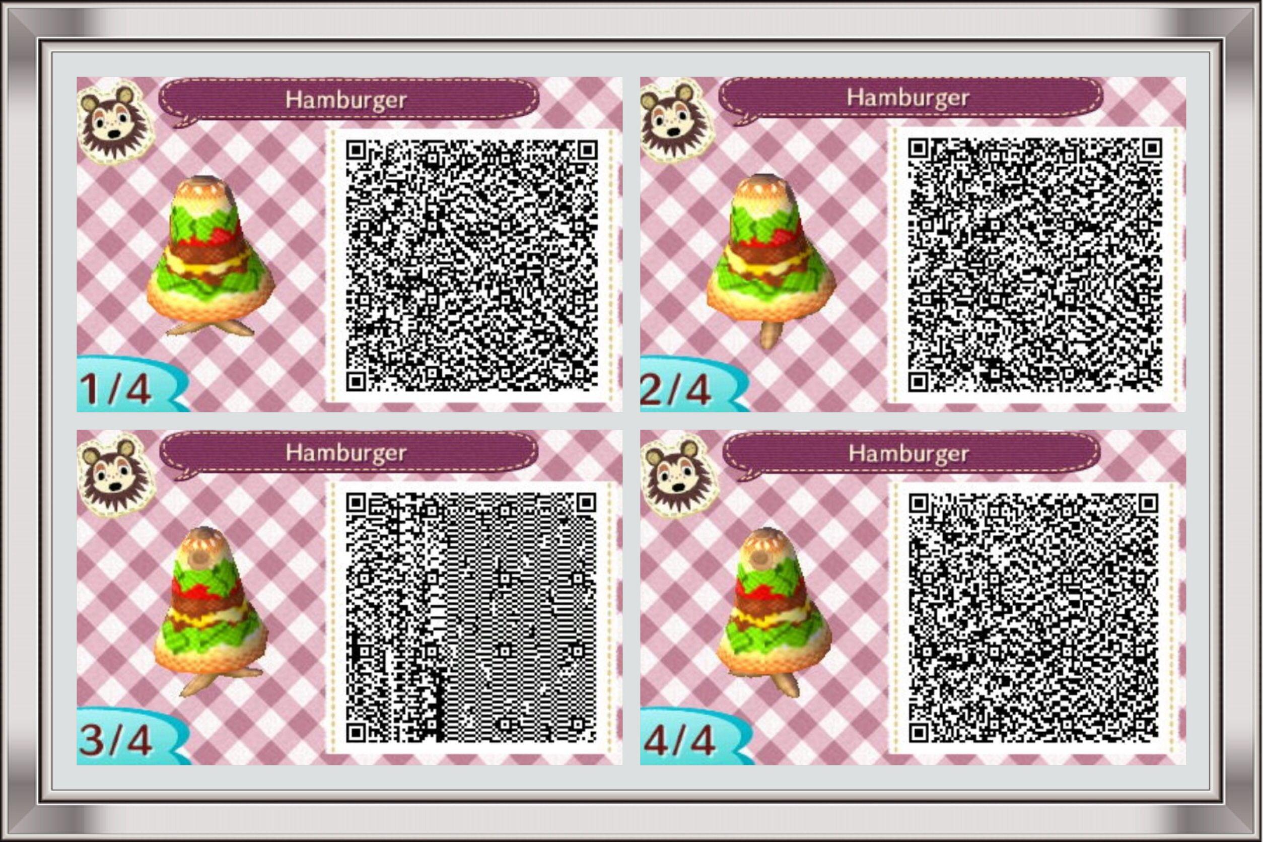 Burger dress   Animal Crossing New Leaf QR Codes   Pinterest ... on happy home blog, happy home designer apps, happy home designer art,